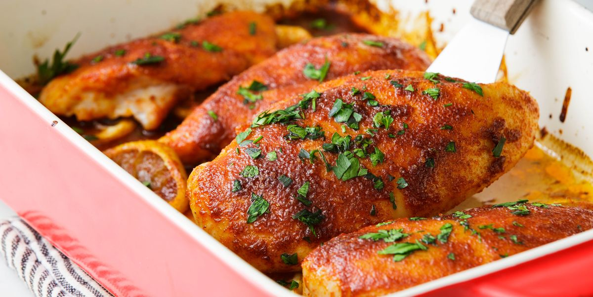 Oven Baked Chicken Breast Recipe How To Bake Flavorful Chicken