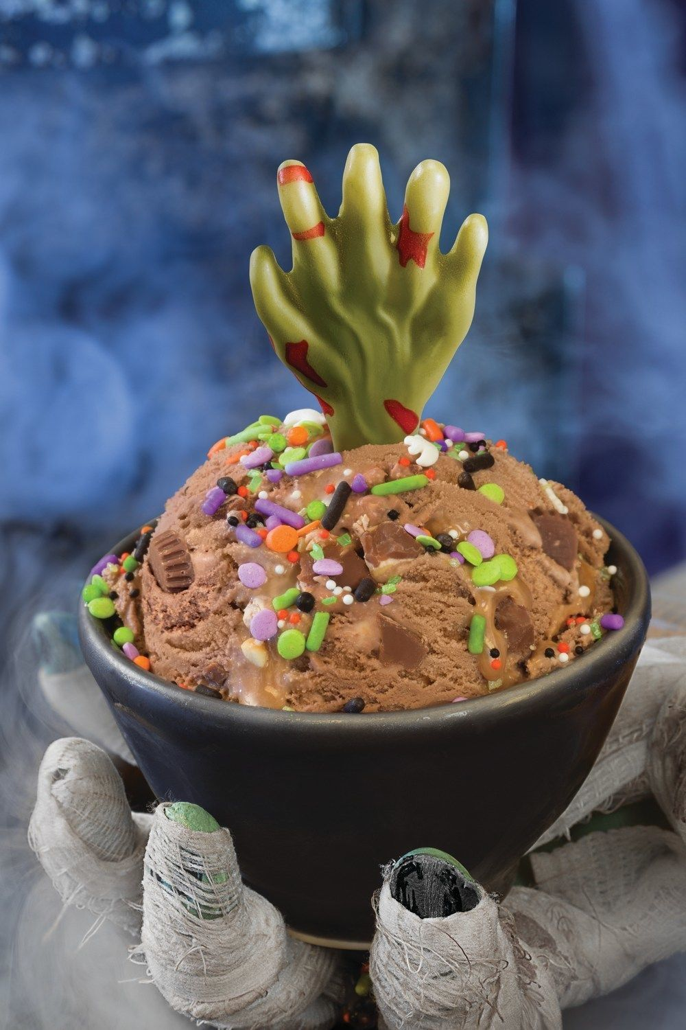 Baskin-Robbins' Newest Halloween Treat Comes With A White Chocolate Zombie Hand