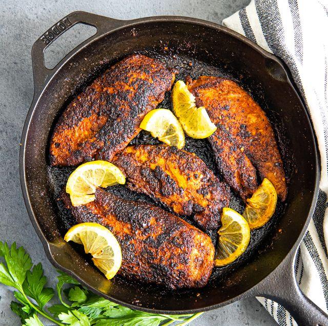 delish blackened chicken