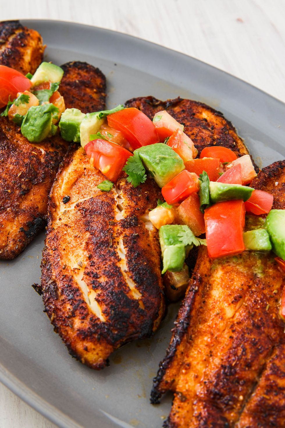 25 Easy Healthy Dinner Recipes -  Blackened Tilapia