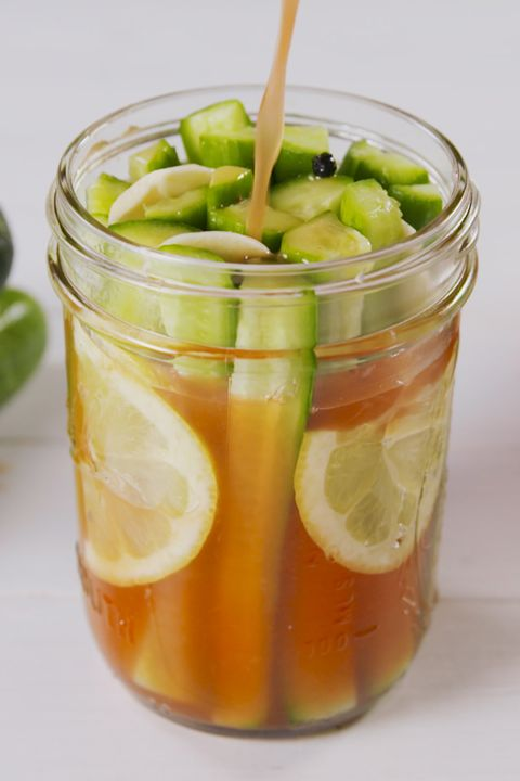 Food, Mason jar, Drink, Ingredient, Vegetable juice, Juice, Tursu, Vegetable, Plant, Pickling,