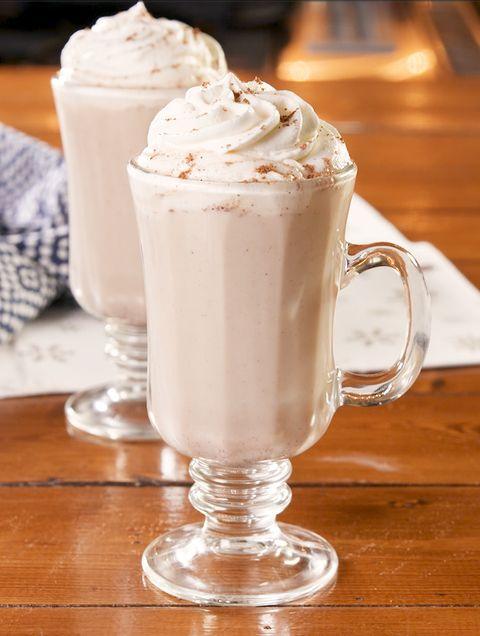 boozy eggnog hot cocoa   delishcom