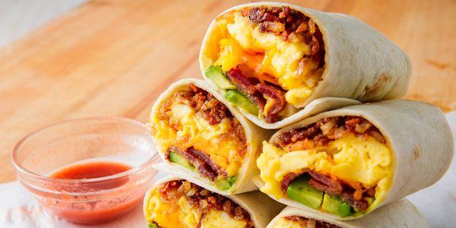 Verwonderlijk Best Breakfast Burrito Recipe - How To Make Breakfast Burrito QZ-99