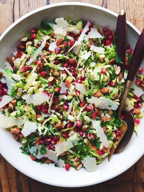 Parmesan Brussels Sprouts Salad