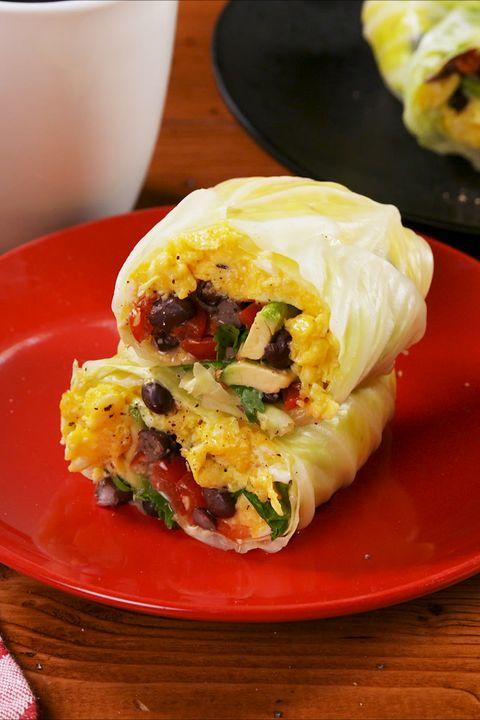 Cabbage Breakfast Burrito - Delish.com