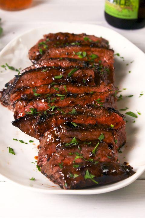 Cajun Butter Steak vertical
