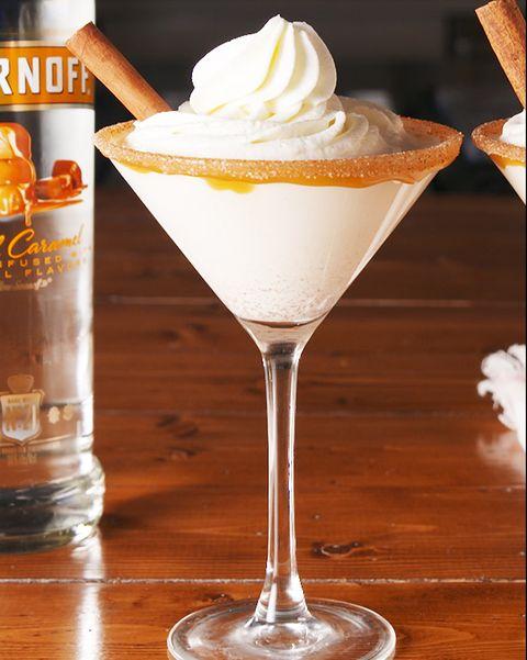 Caramel Snickerdoodle Martini - Delish.com