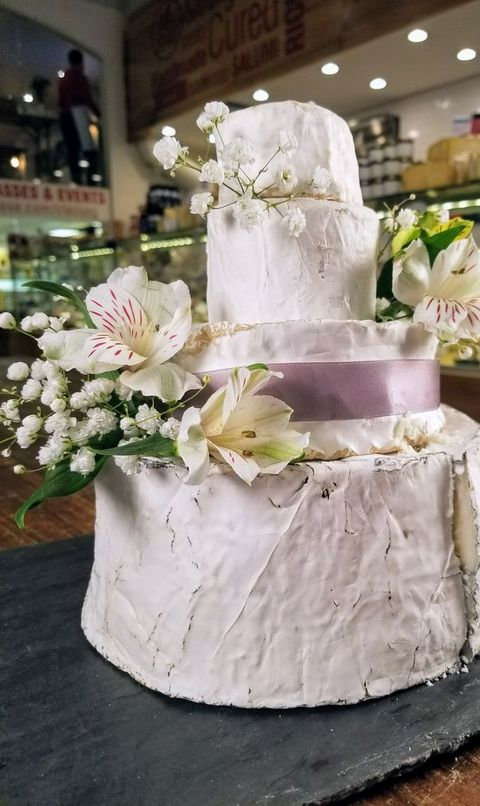 Forget Cake — Your Wedding Deserves A Cheese Tower