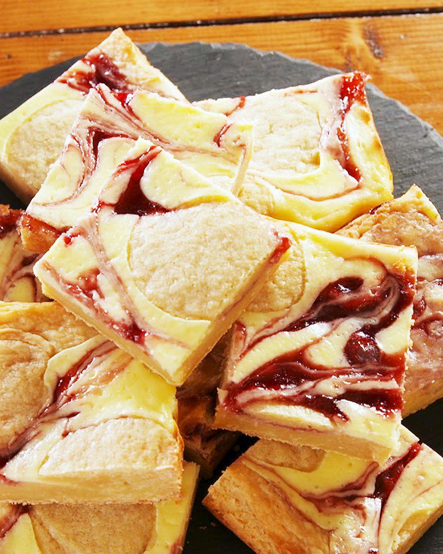 Cheesecake Blondies - Delish.com
