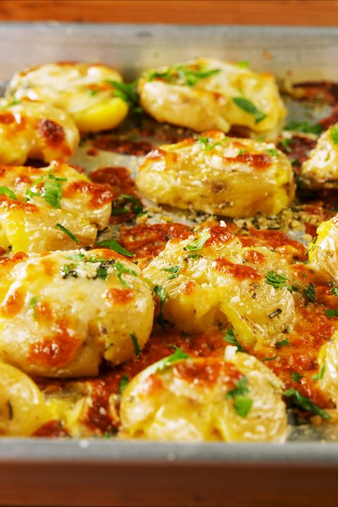 Cheesy Garlic Butter Potatoes