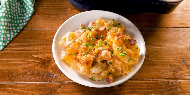 Best Cheesy Ham Potato Casserole Recipe How To Make Cheesy Ham Potato Casserole