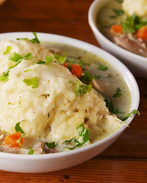 Chicken and Dumplings - Delish.com