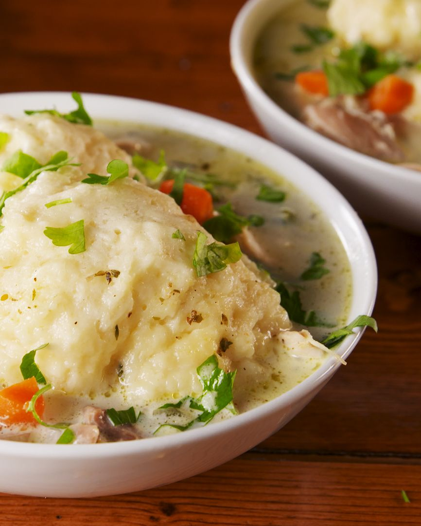 Chicken and Dumplings - Delish.com