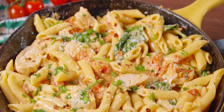 Best Chicken Florentine Pasta How To Make Chicken Florentine Pasta