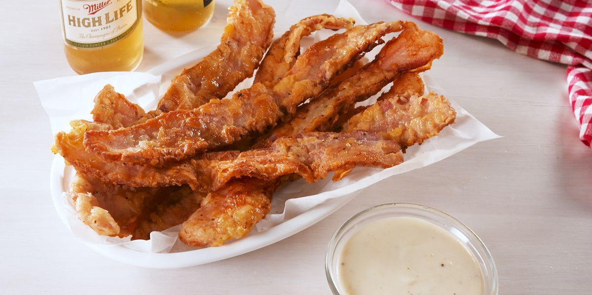 Best Chicken Fried Bacon Recipe How To Make Chicken Fried Bacon