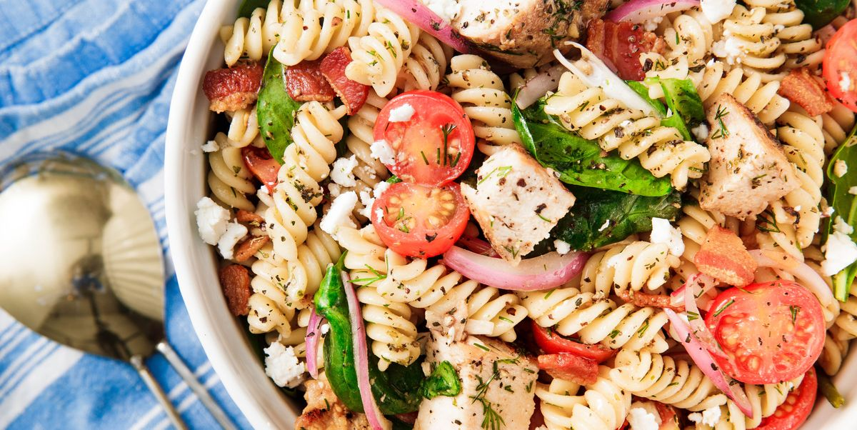 Best Chicken Pasta Salad Recipe How To Make Chicken Pasta Salad