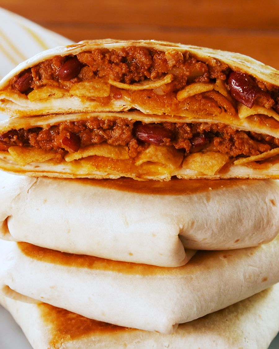 Chili Cheese Crunchwrap - Delish.com