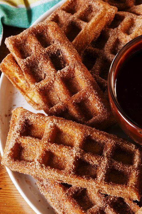 Churro Waffle Dippers vertical