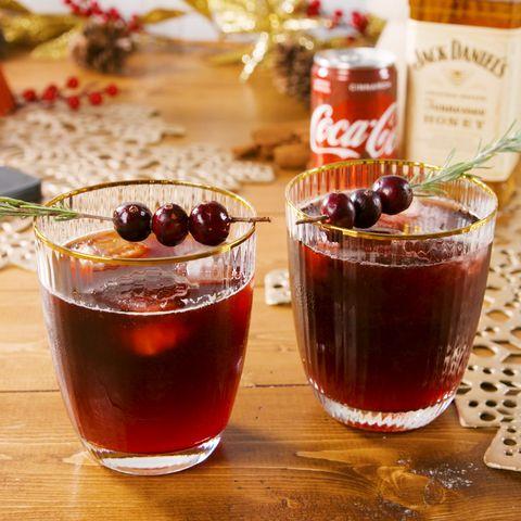 Jack & Coke Cinnamon Smash - Delish.com