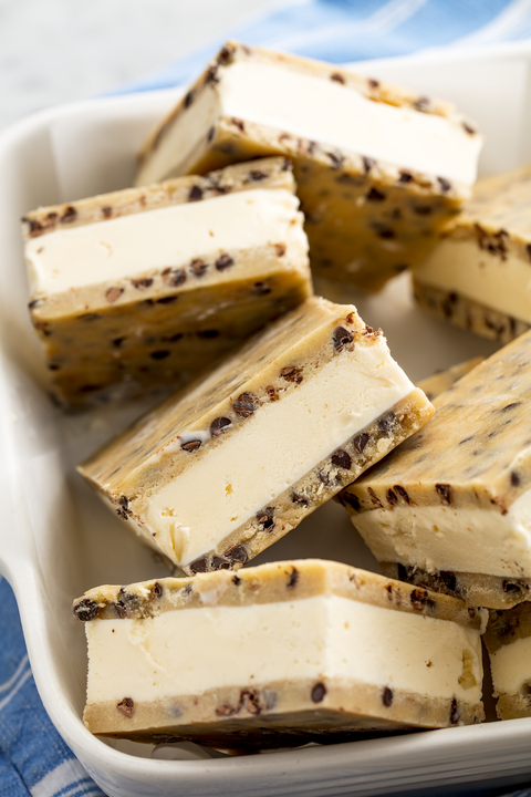 Cookie Dough Ice Cream Sandwiches — Delish.com