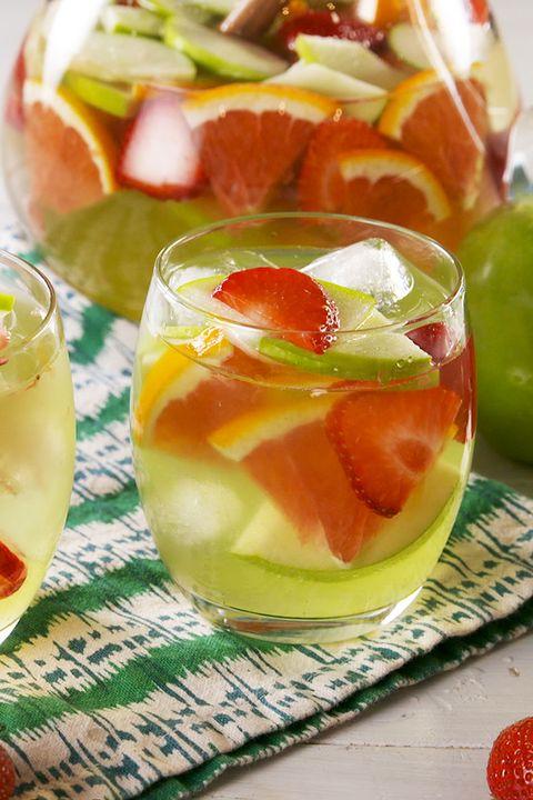 Green Apple Moscato Sangria - Delish.com