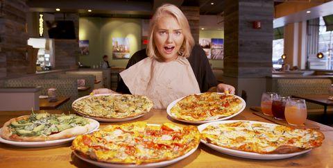 Dish, Food, Cuisine, Pizza, Junk food, Pizza cheese, Meal, Ingredient, Tarte flambée, Brunch,