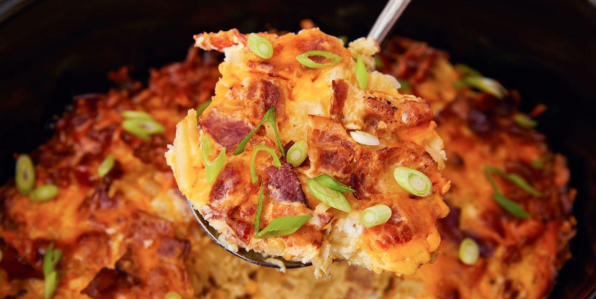 Best Crock Pot Breakfast Casserole Recipe How To Make Crock Pot Breakfast Casserole