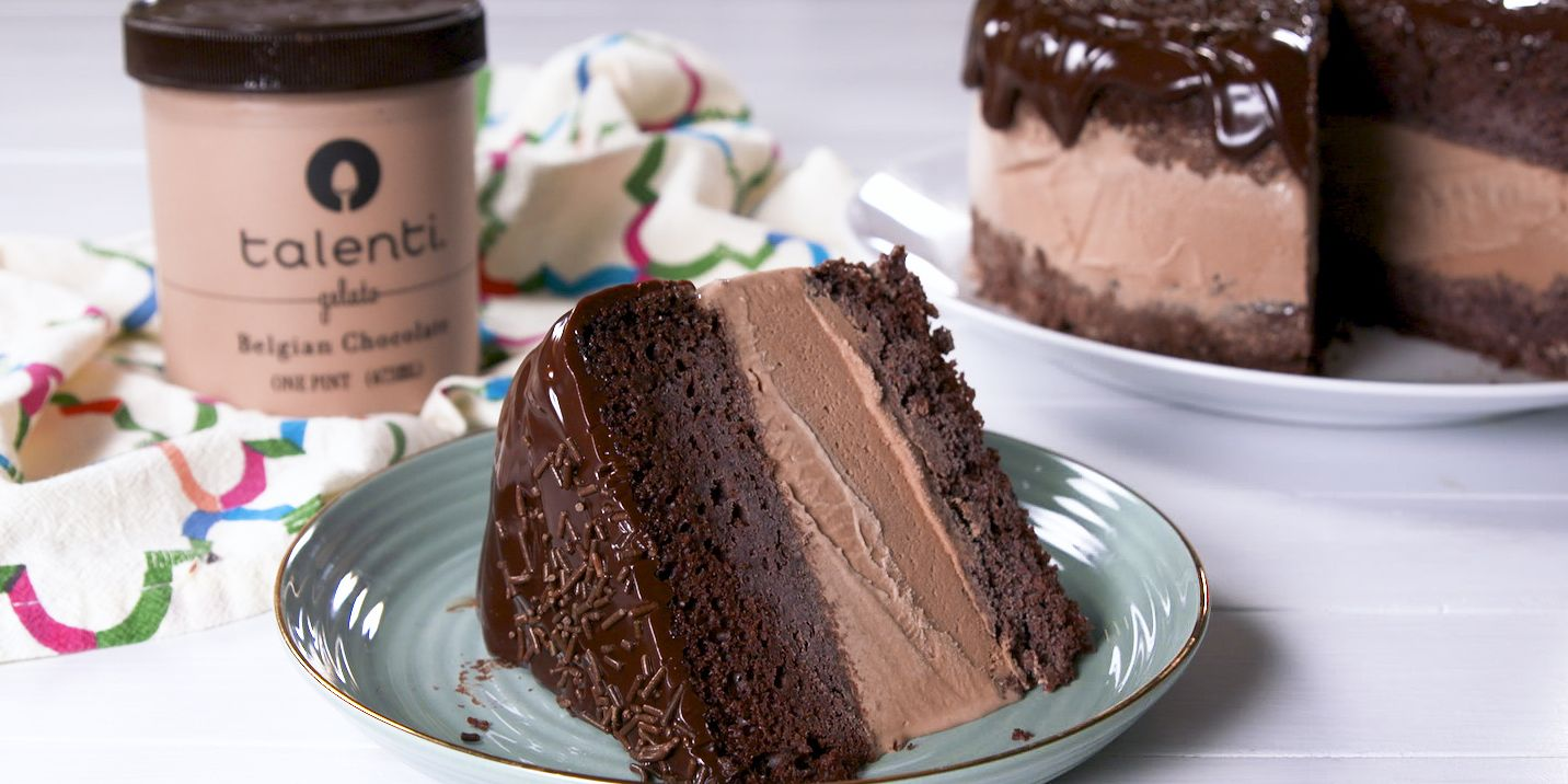 Ice Cream Cake Icing Recipes With Pictures: Best Death By Chocolate Ice Cream Cake Recipe