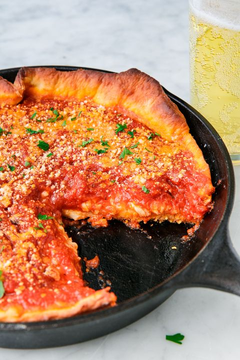 Deep Dish Pizza - Delish.com