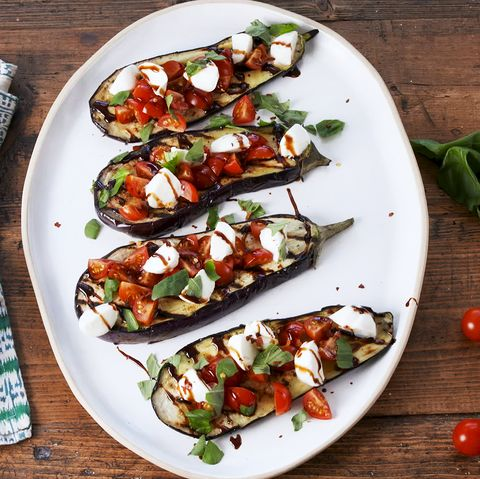 Grilled Eggplant Steaks - Delish.com