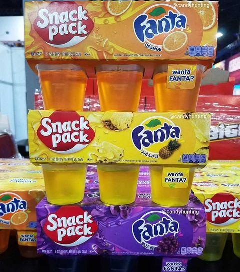 Fanta Snack Packs