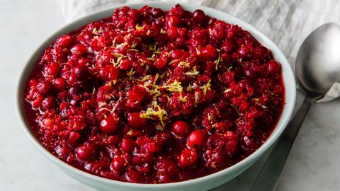 Fresh Cranberry Relish horizontal