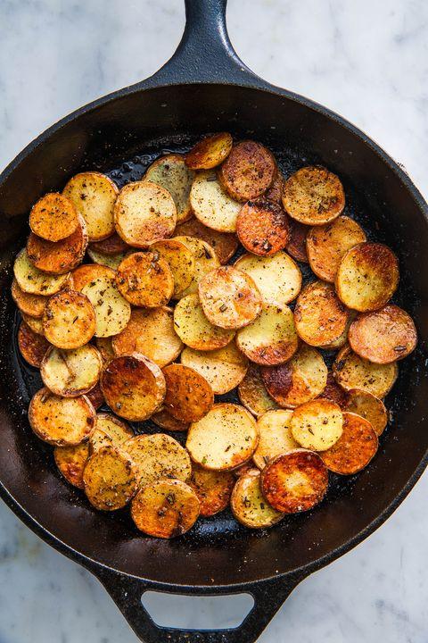 Pan-Fried Potatoes - Delish.com