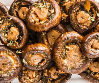 Garlic Butter Mushrooms - Delish.com