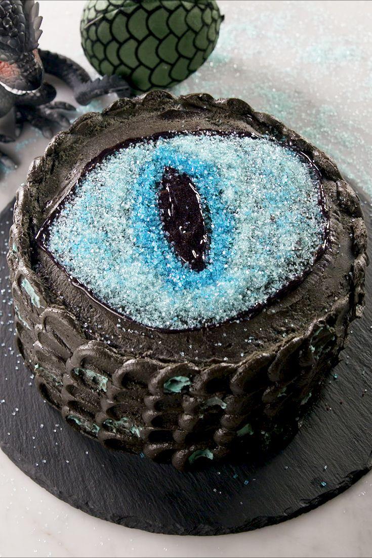 White Walker Dragon Cake - Delish.com