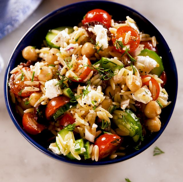 Greek Orzo Salad - Delish.com