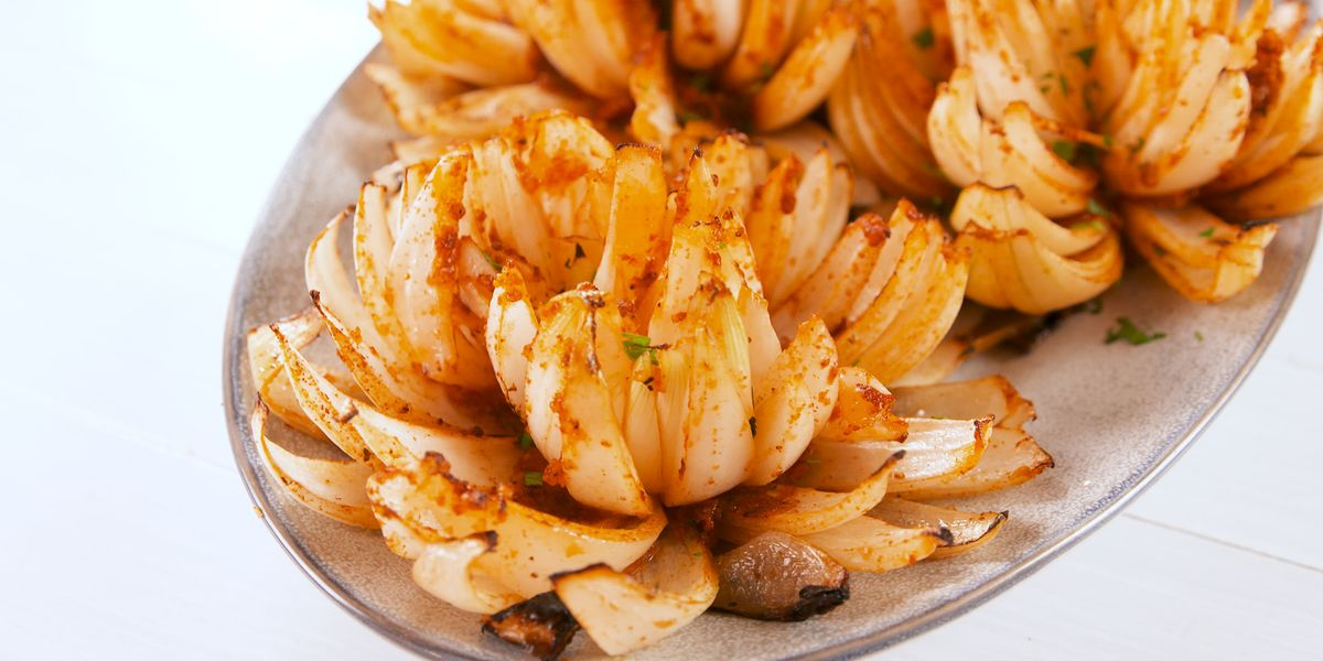 Best Grilled Onion Blossoms Recipe How To Make Grilled