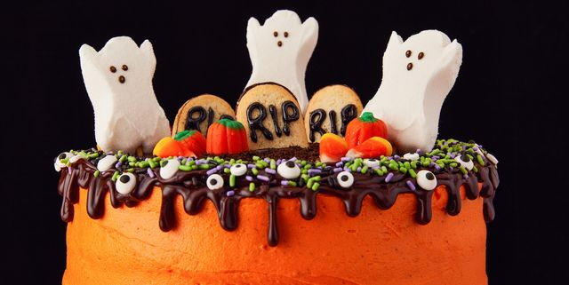 Tremendous 20 Easy Halloween Cakes Recipes And Ideas For Decorating Funny Birthday Cards Online Barepcheapnameinfo