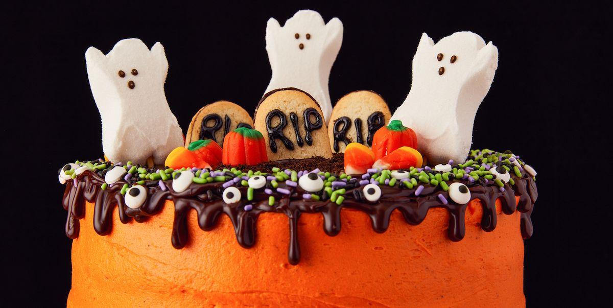 Halloween Birthday Cakes.Best Halloween Cake Recipe How To Make Halloween Layer Cake