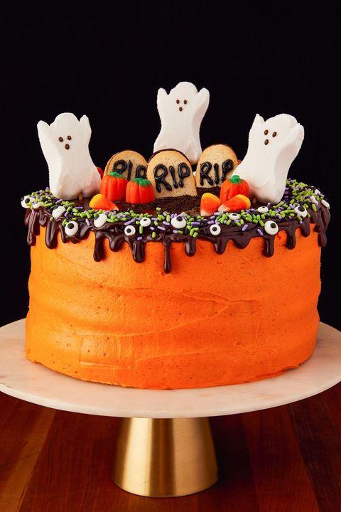 image. Kat Wirsing. Halloween Layer Cake