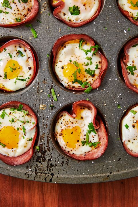 Ham And Cheese Egg Cups - Delish.com