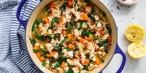 Healthy Chicken Noodle Soup - Delish.com