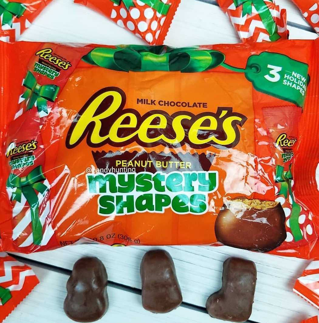 Reese's New Mystery Shapes Holiday Candies Are Truly Indecipherable