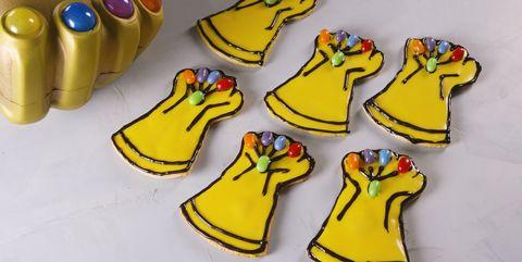 Infinity Gauntlet Cookies