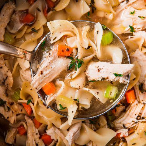 Instant Pot Chicken Noodle Soup - Delish.com