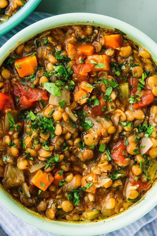 Instant Pot Lentil Soup horizontal
