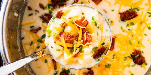 Instant Pot Potato Soup - Delish.com