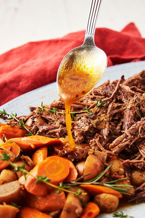 Instant Pot Pot Roast pin — Delish.com