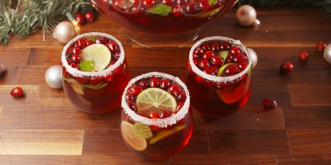 Cranberry Christmas Punch.20 Christmas Punch Recipes Holiday Party Punch With