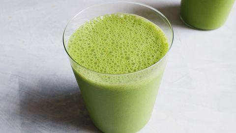 Kale smoothie horizontal